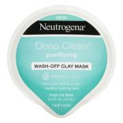 Neutrogena Deep Clean Purifying Wash-Off Clay Mask