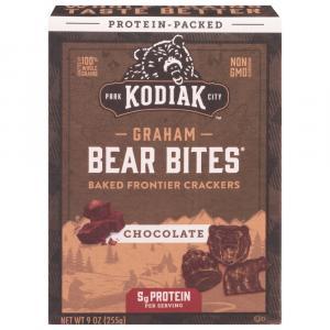 Kodiak Cakes Bear Bites Chocolate Frontier Graham Crackers