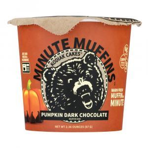 Kodiak Cakes Minute Muffins Pumpkin Dark Chocolate Cup