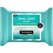 Neutrogena Deep Clean Purifying Micellar Wipes