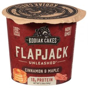 Kodiak Cakes Cinnamon & Maple Flapjack On The Go Cup