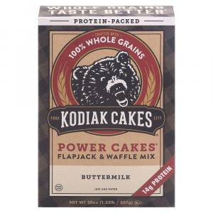 Kodiak Cakes Power Cakes Whole Grain Buttermilk Flapjack Mix