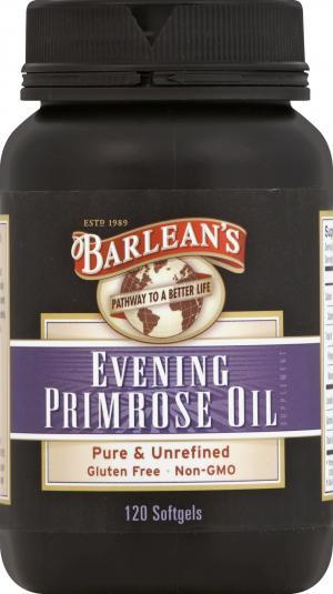 Barlean's Organic Evening Primrose Oil Capsules