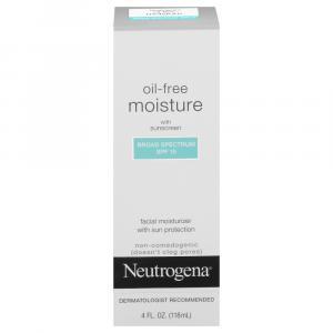 Neutrogena Oil Free Moisturizer SPF 15