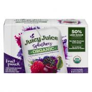 Juicy Juice Splashers Organic Fruit Punch