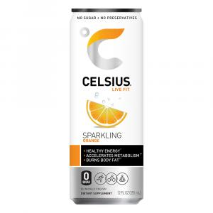 Celsius Sparkling Orange Energy Drink