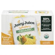 Juicy Juice Splashers Organic Tropical Twist