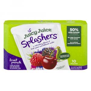 Juicy Juice Splashers Fruit Punch