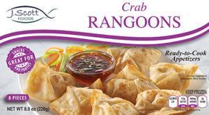 J. Scott Foods Crab Rangoons