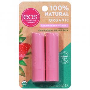 Eos 100% Natural Organic Strawberry Sorbet Shea Lip Balm