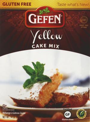 Gefen Yellow Gluten Free Cake Mix