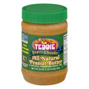 Teddie All Natural Super Chunky Peanut Butter