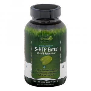 Irwin Naturals Double Potency 5-HTP Extra Mood & Relaxation