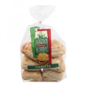Anzio's Ciabatta Rolls