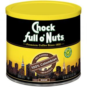 Chock full o'Nuts 100% Colombian Coffee