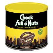 Chock full o'Nuts 100% Colombian Coffee