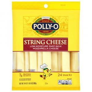 Polly-O Mozzarella String Cheese Value Pack