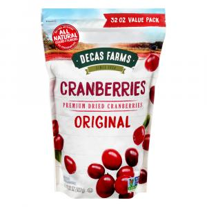 Decas Farms Dried Cranberries