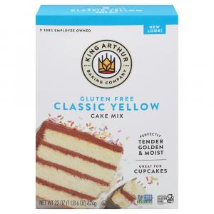 King Arthur Gluten Free Yellow Cake Mix