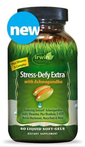 Irwin Naturals Stress-Defy Extra with Ashwagandha