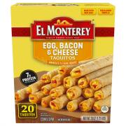 El Monterey Egg Bacon & Cheese Taquitos