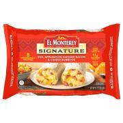 El Monterey Signature Egg & Bacon Burritos