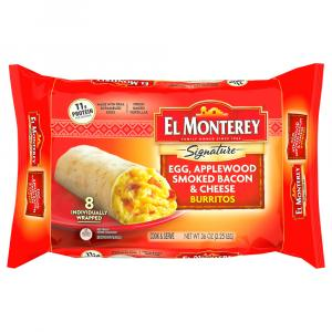 El Monterey Signature Egg & Bacon Burritos