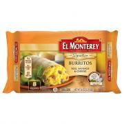 El Monterey Signature Egg Sausage & Cheese Burritos