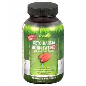 Irwin Naturals Keto-Karma Burn Fat Red