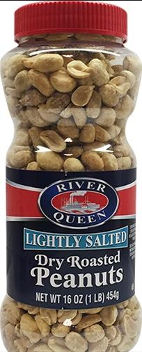 River Queen Lightly Salted Dry Roasted Peanuts