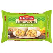 El Monterey Egg Sausage Cheese & Potato Burritos