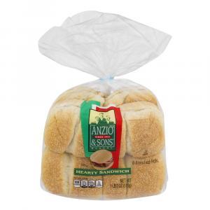 Anzio's Hearty Sandwich Rolls
