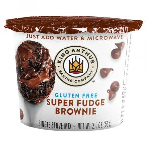 King Arthur Gluten Free Super Fudge Brownie Single Serve Mix