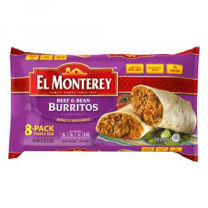 El Monterey Beef & Bean Burritos