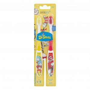 Smilepro Dr. Seuss Extra Soft Manual Toothbrushes