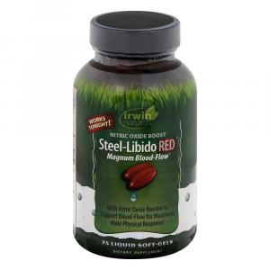 Irwin Naturals Steel-Libido Red Nitric Oxide Boost