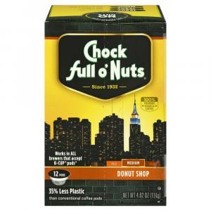 Chock Full O'Nuts Donut Shop Single Serve Pods