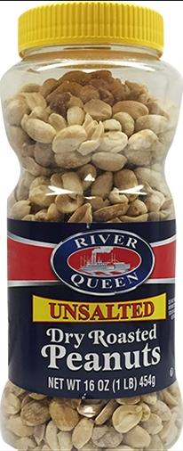 River Queen Unsalted Dry Roasted Peanuts