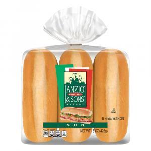 Anzio's Hoagie Rolls