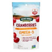 Decas Farms Omega-3 Dried Cranberries