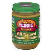 Teddie Old Fashioned Creamy Peanut Butter