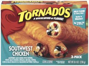 El Monterey Southwest Chicken Tornados