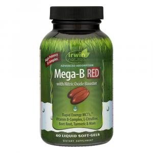 Irwin Naturals Mega-B Red with Nitric Oxide Booster