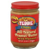 Teddie All Natural Chunky Peanut Butter With Flaxseed