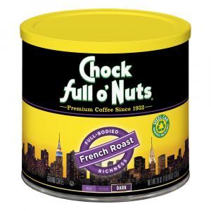 Chock Full O'nuts French Roast Ground Coffee