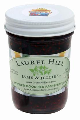 Laurel Hill Wicked Good Red Raspberry Jam
