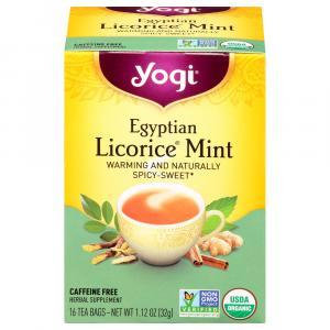 Yogi Egyptian Licorice Mint Tea Bags