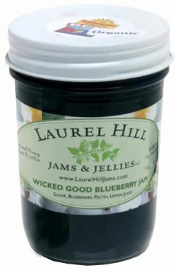 Laurel Hill Wicked Good Blueberry Jam