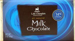 Lake Champlain Milk Chocolate Bar