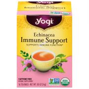 Yogi Golden Temple Echinacea Immune Support Tea Bags